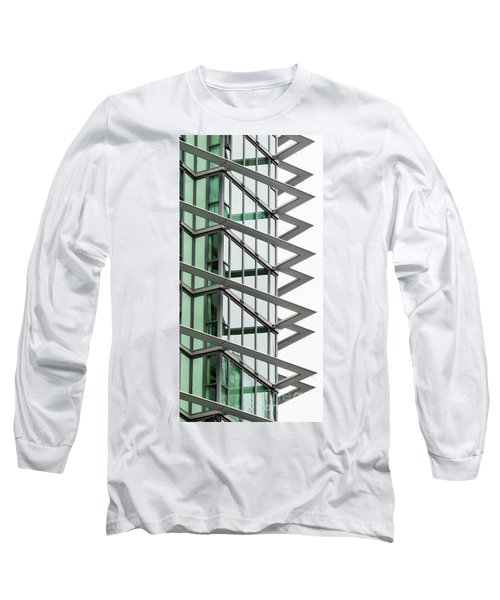 Long Sleeve T-Shirt featuring the photograph The Teeth by Chris Dutton