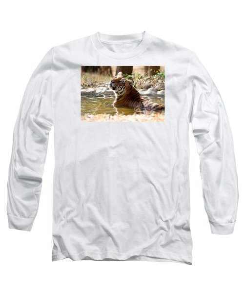 Long Sleeve T-Shirt featuring the photograph The Thinker by Ramabhadran Thirupattur