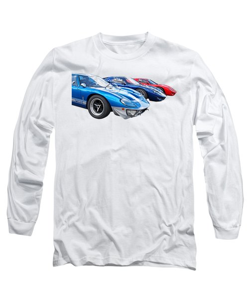 The Three Amigos - Ford Gt 40 Long Sleeve T-Shirt