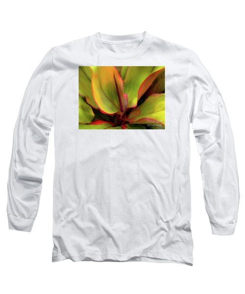 The Ti Leaf Plant In Hawaii Long Sleeve T-Shirt