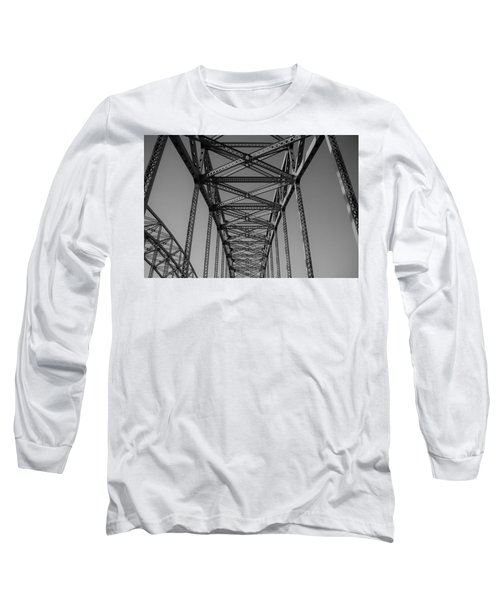 The Top Of Robert Moses Causeway Long Sleeve T-Shirt