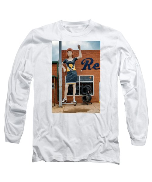The Tornadoes Cheerleader Long Sleeve T-Shirt