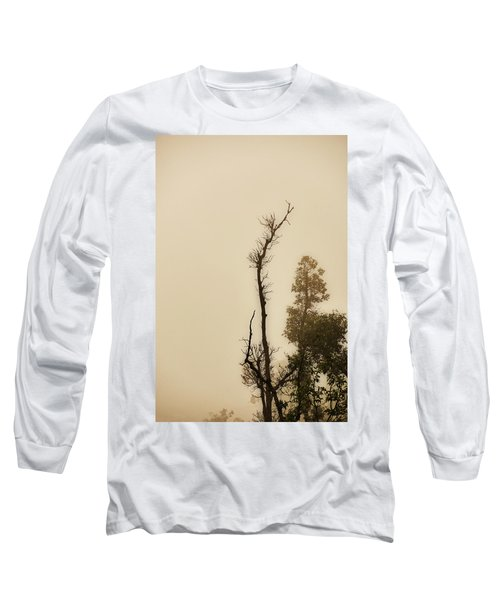 The Trees Against The Mist Long Sleeve T-Shirt
