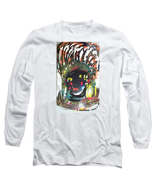 The Tribal Warrior Long Sleeve T-Shirt
