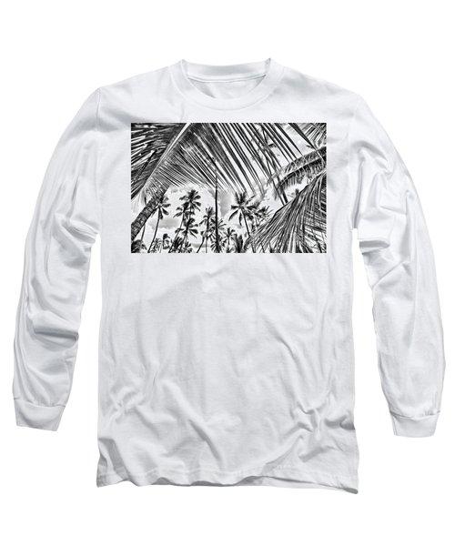 Long Sleeve T-Shirt featuring the photograph The Tropics by DJ Florek