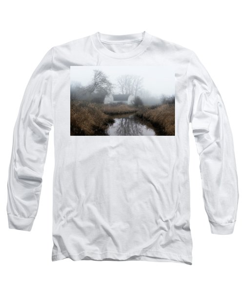 The Twin Barns Of Nisqually Long Sleeve T-Shirt