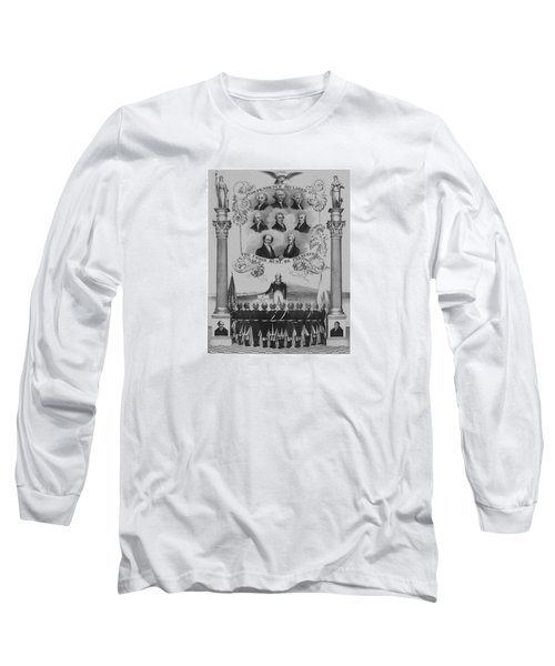 The Union Must Be Preserved Long Sleeve T-Shirt by War Is Hell Store