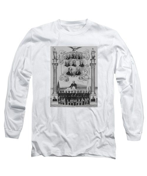 The Union Must Be Preserved Long Sleeve T-Shirt