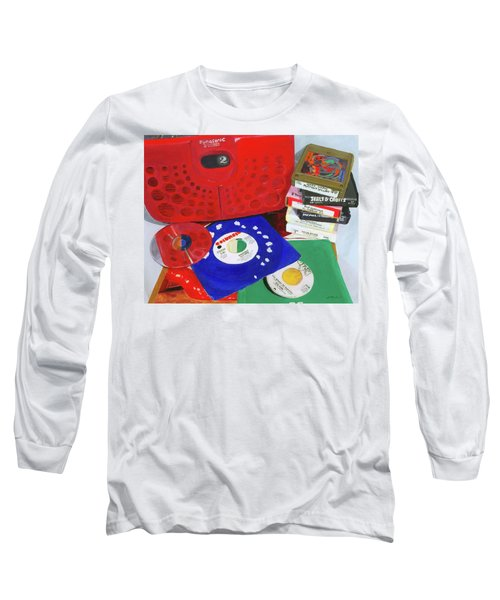 Long Sleeve T-Shirt featuring the painting The Universal Language by Lynne Reichhart