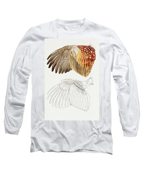 The Upper Side Of The Pheasant Wing Long Sleeve T-Shirt
