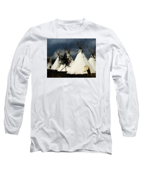 Long Sleeve T-Shirt featuring the photograph The Village by John Freidenberg
