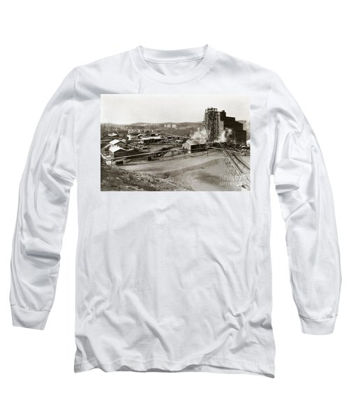 The Wanamie Colliery Lehigh And Wilkes Barre Coal Co Wanamie Pa Early 1900s Long Sleeve T-Shirt