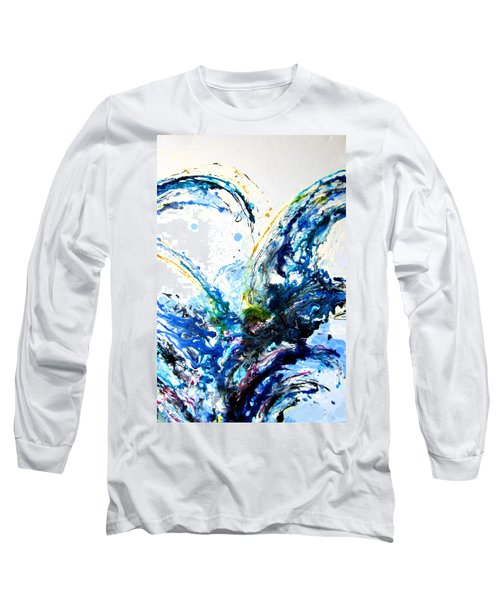 The Wave 2 Long Sleeve T-Shirt by Roberto Gagliardi