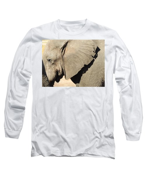 Long Sleeve T-Shirt featuring the photograph The Weathered Look by Betty-Anne McDonald