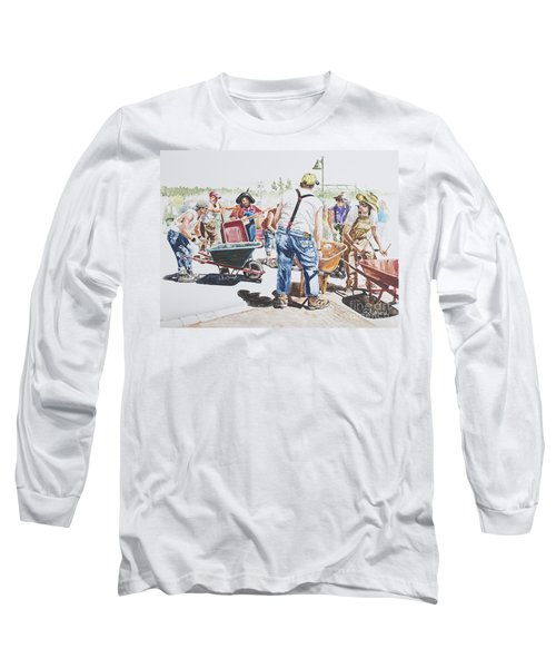 The Wheelsbarrow Band Long Sleeve T-Shirt