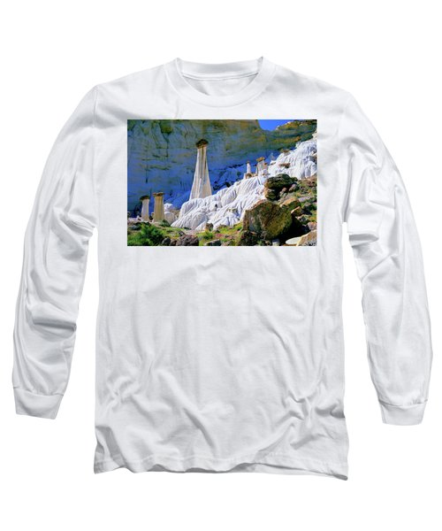 The White Hoodoos Long Sleeve T-Shirt