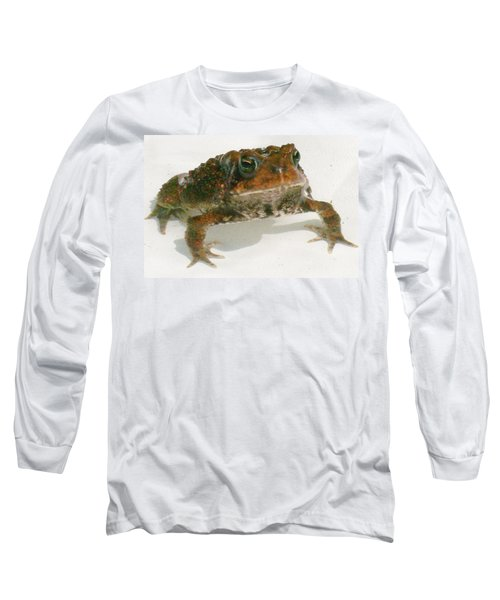 Long Sleeve T-Shirt featuring the digital art The Whole Toad by Barbara S Nickerson