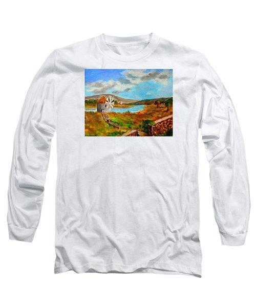 The Windmill Long Sleeve T-Shirt