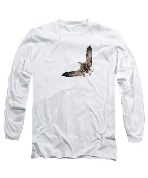 The Wings Of An Eagle 2018 Isolated Long Sleeve T-Shirt