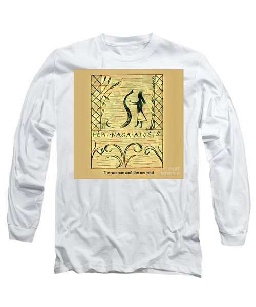 The Woman And The Serpent Long Sleeve T-Shirt