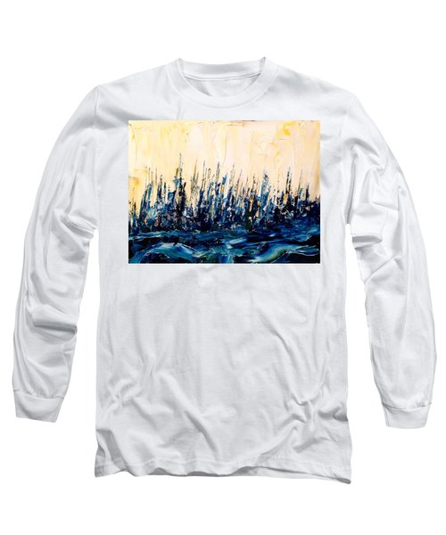 The Woods - Blue No.2 Long Sleeve T-Shirt