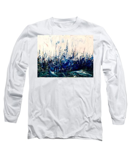 The Woods - Blue No.3 Long Sleeve T-Shirt