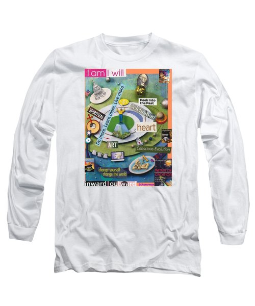 The World At Your Feet Long Sleeve T-Shirt