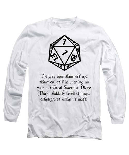 There Goes That Sword Long Sleeve T-Shirt by Jon Munson II