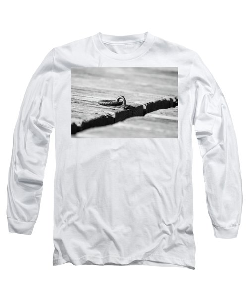 Long Sleeve T-Shirt featuring the photograph There by Karol Livote