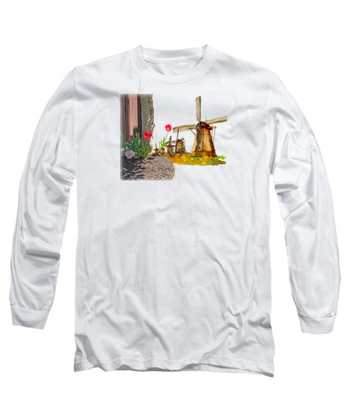 Thinkin Bout Home Long Sleeve T-Shirt by Larry Bishop