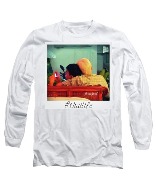 Long Sleeve T-Shirt featuring the photograph Thinking About Escaping Us by Mr Photojimsf