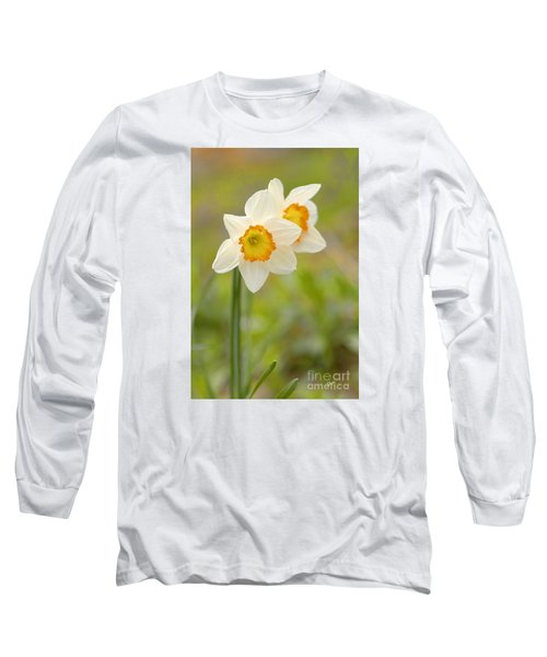 Thinking About Spring Long Sleeve T-Shirt by Alana Ranney