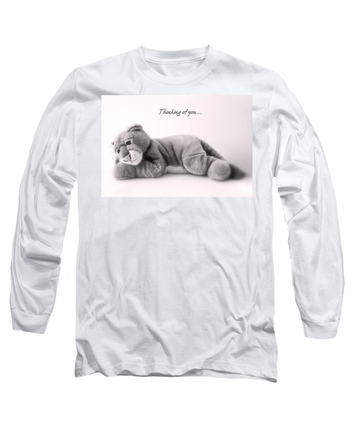 Thinking Of You Long Sleeve T-Shirt by Gina Dsgn