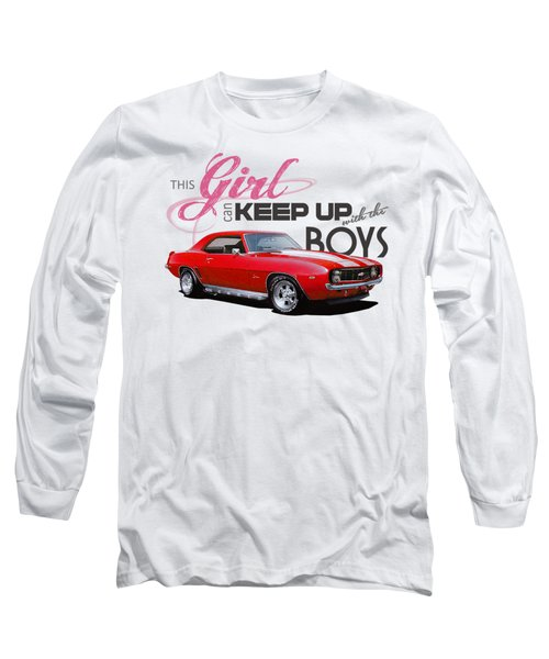 This Girl Can Keep Up Long Sleeve T-Shirt
