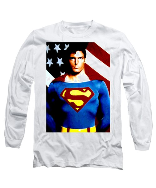 This Is Superman Long Sleeve T-Shirt by Saad Hasnain