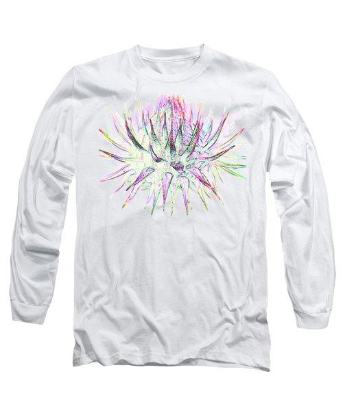 Thistlehead1 T-shirt Long Sleeve T-Shirt