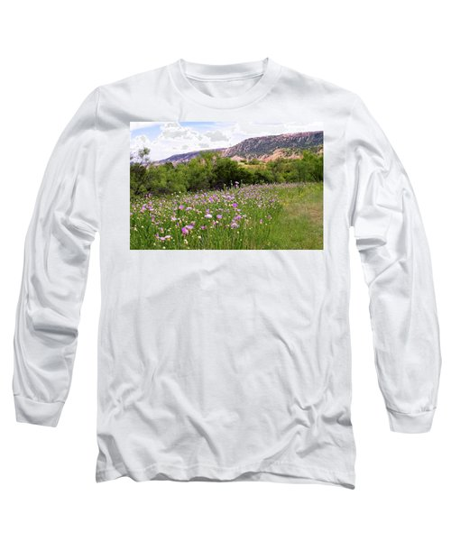 Thistles In The Canyon Long Sleeve T-Shirt