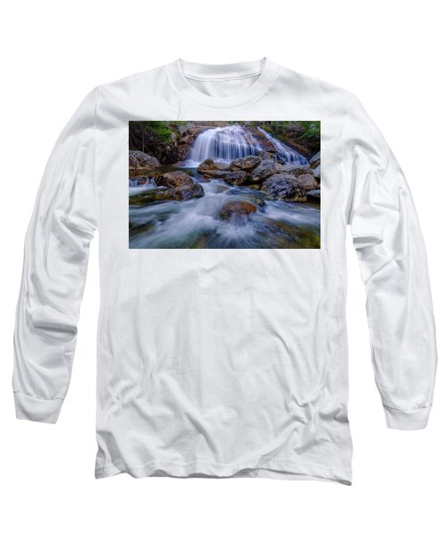 Thompson Falls, Pinkham Notch, Nh Long Sleeve T-Shirt