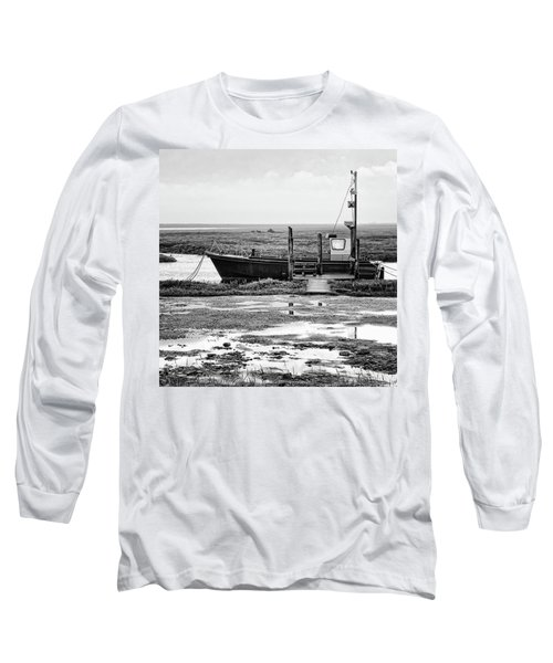 Thornham Harbour, North Norfolk Long Sleeve T-Shirt