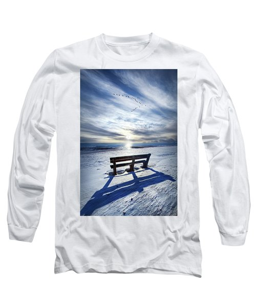 Long Sleeve T-Shirt featuring the photograph Those Seconds Before by Phil Koch
