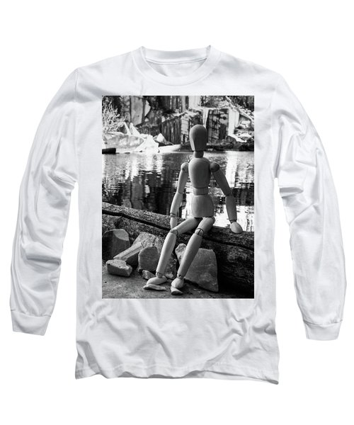 Thoughts Reflected Long Sleeve T-Shirt