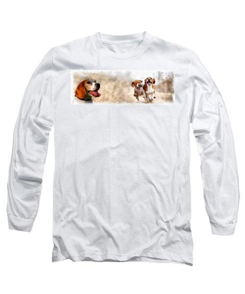 Three Amigos Long Sleeve T-Shirt by Maciek Froncisz