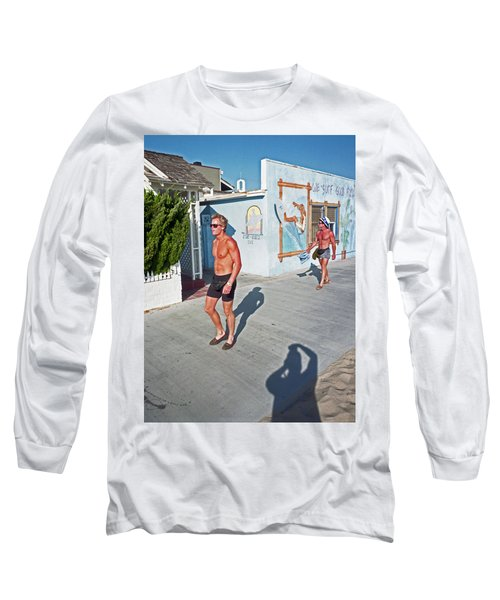 Three Beefcakes Long Sleeve T-Shirt