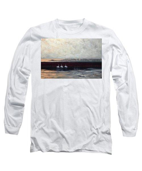 Three Boats Long Sleeve T-Shirt