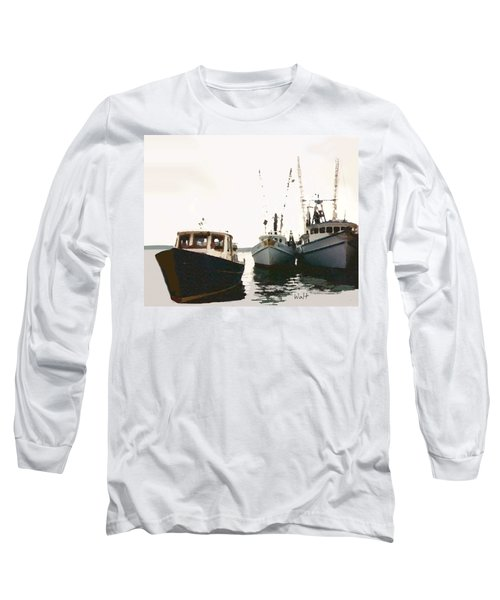 Three Boats Long Sleeve T-Shirt