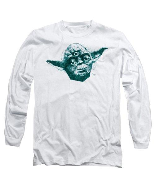 Three Eyed Yoda Long Sleeve T-Shirt