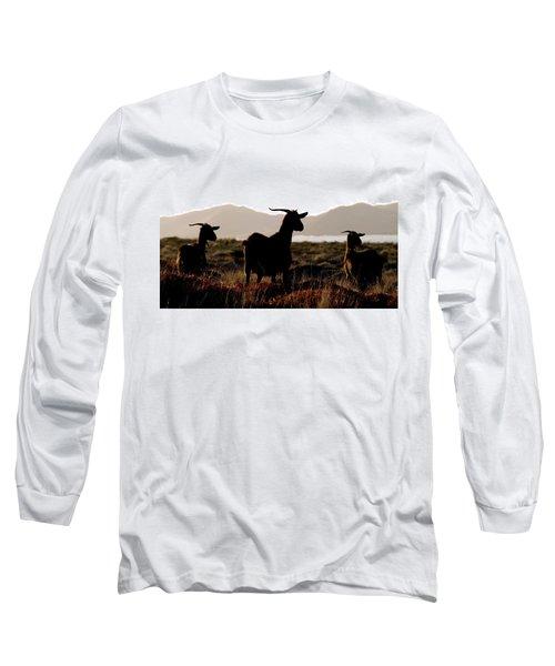 Three Goats Long Sleeve T-Shirt