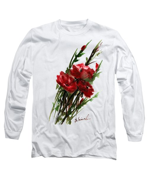 Three In A Bunch Long Sleeve T-Shirt