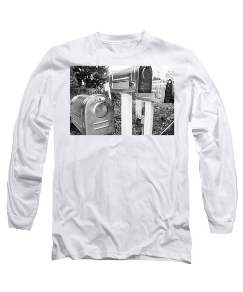 Three Mailboxes Long Sleeve T-Shirt