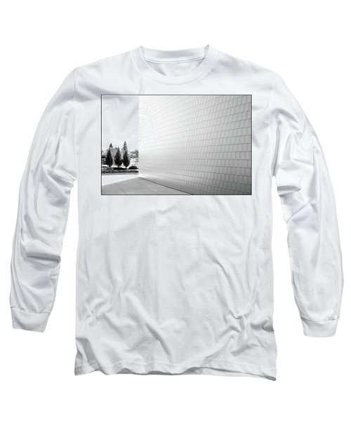 Three Trees And A Wall Long Sleeve T-Shirt